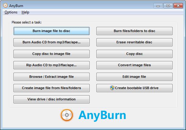 Burn NRG file
