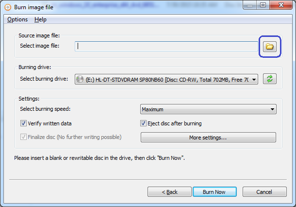 Burn to multiple drives at the same time