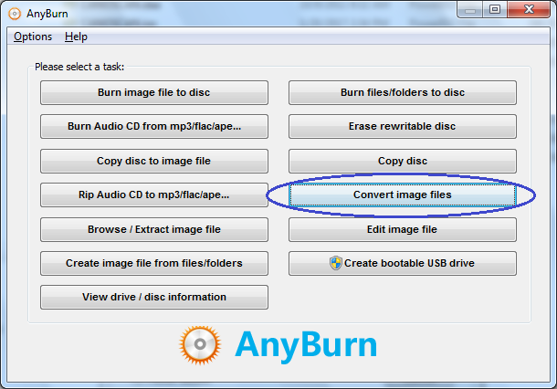 Convert DMG to ISO file