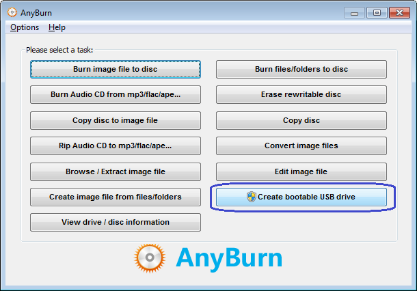 burn windows to usb power iso