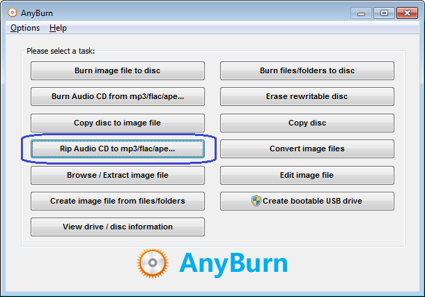 how to rip a cd into mp3
